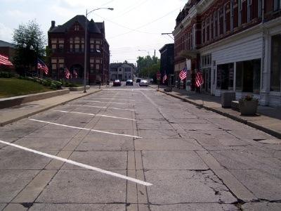 اولین خیابان بتنی